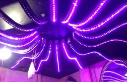 Hỏi bảng giá đèn LED nháy theo nhạc cho quán Karaoke?