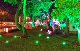 Hỏi xin bảng giá đèn LED hắt cho sân vườn?