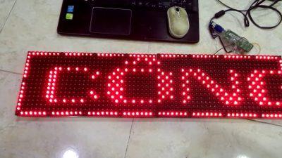 Hướng dẫn làm biển LED ma trận P10 Full